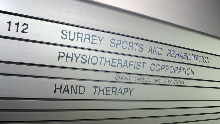 Surrey Sports and Rehabilitation Physiotherapist